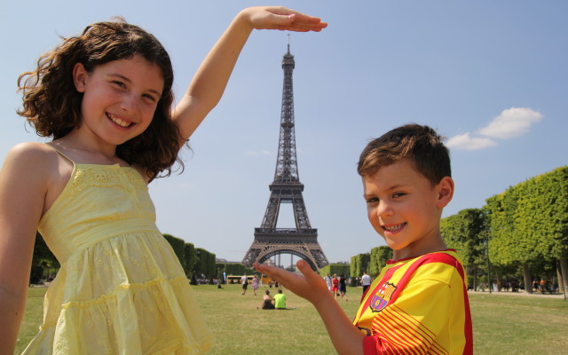 kiddos and eiffel